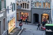Der Luzerner Stadtrat prüft derzeit, ob ein City Manager das Gewerbe in der Altstadt aufwerten könnte. (Bild: Nadia Schärli, 15. Januar 2019)