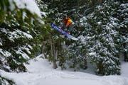 Snowboarder und Skifahrer können sich im Warmtobel nach Lust und Laune austoben.