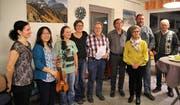 Aktuelle Mitglieder und Gründungsmitglieder feierten gemeinsam das Jubiläum des Sprachencafés Buchs. (Bild: PD)