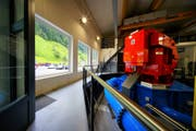 Im Kraftwerk Bristen wurden im vergangenen Geschäftsjahr 17,14 Millionen Kilowattstunden Energie produziert. (Bild: PD)