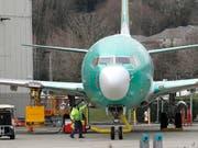 Druck auf Boeing wächst - Experten werten Flugschreiber aus. (Bild: KEYSTONE/AP/TED S. WARREN)