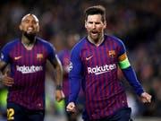 Kein einfaches Los für Lionel Messi und den FC Barcelona in den Champions-League-Viertelfinals (Bild: KEYSTONE/EPA EFE/ALBERTO ESTEVEZ)