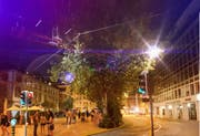 Eine Piazza-Vision für die Platanengruppe vor dem «Union» am Schibenertor. (Illustration: Markus Tofalo)