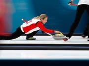 Silvana Tirinzoni gleitet wieder für die Schweiz über das Eis (Bild: KEYSTONE/AP/AARON FAVILA)