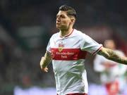 Steven Zuber will seinen Job bei Stuttgart auch gegen seinen Ex-Klub Hoffenheim gut machen (Bild: KEYSTONE/AP dpa/CARMEN JASPERSEN)