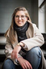 «Eine moderne junge Frau»: Die St.Galler Grünen setzen Franziska Ryser an die Spitze ihrer Nationalratsliste. (Bild: Benjamin Manser)