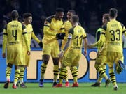 Captain Marco Reus sicherte mit seinem Tor den Sieg (Bild: KEYSTONE/AP/MICHAEL SOHN)