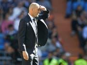 Zinédine Zidane sah fleissige Real-Spieler bei seiner Rückkehr auf die Trainerbank (Bild: KEYSTONE/AP/PAUL WHITE)