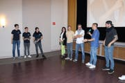 """Eine Jury beurteilte die jungen Filmemacher im Kino """"Roxy"""". (Bild: Markus Bösch)"""