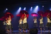 Über den Köpfen des Frauenturnvereins regnet es. (Bild: Daniela Ebinger)