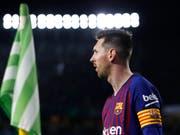 Lionel Messi war einmal mehr nicht zu halten (Bild: KEYSTONE/AP/MIGUEL MORENATTI)