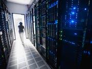Schützenswert, weil lebensnotwendig: ein Serverraum. (Bild: Getty)
