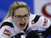 Alina Pätz wird es auf der vierten Position des Schweizer Teams nicht langweilig (Bild: Keystone/AP/SHIZUO KAMBAYASHI)