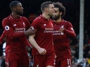 James Milner schoss Liverpool zum wichtigen Sieg (Bild: KEYSTONE/AP/KIRSTY WIGGLESWORTH)