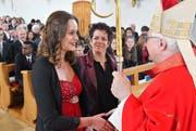 Die Firmung ist für junge Katholiken ein besonderer Moment. (Bild: Fritz Heinze)