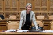 Die Präsidentin der aussenpolitischen Kommission Elisabeth Schneider-Schneiter. (KEYSTONE/Alessandro della Valle)