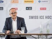 Florian Kohler hat sein Amt als CEO beim Eishockey-Verband Ende November abgegeben. Seine Nachfolge tritt Patrick Bloch an, derzeit Geschäftsführer bei Thurgau in der Swiss League (Bild: KEYSTONE/URS FLUEELER)