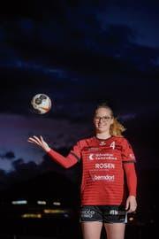 Samira Schardt spielt die beste Saison ihrer Karriere. Bild: Boris Bürgisser (Stans, 15. März 2019)