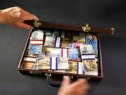 Die laut den mexikanischen Behörden verdächtigen Zahlungen sind über Schweizer Konten abgewickelt worden. (Bild: KEYSTONE/MARTIN RUETSCHI)