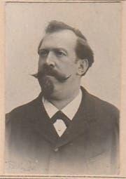 Leidbildchen von Josef Brunner. (Bild: www.portraitarchiv.genealogie-zentral.ch)