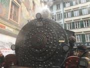 An dieser Lokomotive arbeiteten die «Rätsch-Häxe» über ein halbes Jahr lang jedes Wochenende. (Bild: Sandro Renggli)