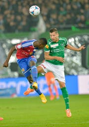 Für den FC St.Gallen absolvierte Stéphane Besle insgesamt 98 Spiele. (Bild: Ralph Ribi, 4. Oktober 2014)