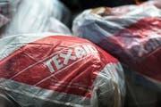 Das Sammlungsunternehmen Texaid stand zuletzt stark in der Kritik. (Bild: Christian Beutler/Keystone)