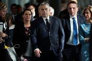 Der ungarische Ministerpräsident Viktor Orban. (Bild: AP Photo/Francisco Seco)