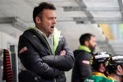 Trainer Stephan Mair hat mit dem HC Thurgau noch einiges vor. (Bild: Andy Müller/Freshfocus)