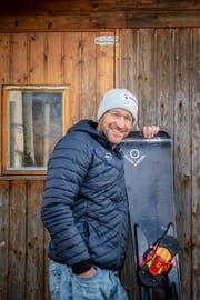 Seit 2004 trainiert Christian Rufer die Schweizer Alpin-Snowboarder. Bild: Urs Bucher