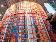 Bücherstand an der Leipziger Buchmesse. (Bild: KEYSTONE/AP/JENS MEYER)