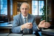 Arno Noger, FDP-Kantonsrat und Präsident der Ortsbürgergemeinde St.Gallen. (Bild: Ralph Ribi)