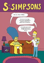 Die Simpsons in Liv Strömquists drittem Comic-Band im feministischen Rollentausch. (Bild: PD)