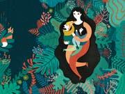 Schön schaurig: Illustration aus dem Kinderbuch «Die Flucht» von Francesca Sanna. (Bild: PD)