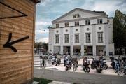 Die Zukunft des Luzerner Theatergebäudes bleibt weiterhin ungewiss. (Bild: Boris Bürgisser, Luzern, 21. September 2018)