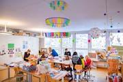 Knatsch um die Tagesbetreuung im Riethüsli: Quartierbewohner fordern städtische Übergangslösung für familienergänzende Betreuung. (Bild: Urs Bucher)