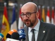 Belgiens Ministerpräsident Charles Michel hat am Freitag in Brüssel das britische Unterhaus aufgefordert, dem Vertrag für einen geregelten EU-Austritt zuzustimmen. (Bild: KEYSTONE/AP/FRANK AUGSTEIN)