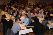 Mit 292 anwesenden Ortsbürgerinnen und Ortsbürgern war die Ortsbürgerversammlung auch dieses Jahr sehr gut besucht. (Bild: Susi Miara)