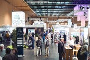 Am Wochenende hat die 21. Immo-Messe Schweiz in den Olma-Hallen stattgefunden. (Bild: PD)