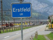 In Erstfeld wird an der Gemeindeversammlung über eine grosse Traktandenliste befunden. (Bild: Urs Hanhart, Erstfeld, 7. Juni 2018)