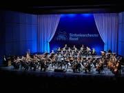 Das Sinfonieorchester Basel muss nur noch eine Saison im Exil verbringen, etwa im Musical Theater Basel. Ab Sommer 2020 tritt es dann im renovierten Musiksaal des Basler Stadtcasinos auf. (Bild: Sinfonieorchester Basel/Benno Hunziker)