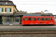Die Rheineck-Walzenhausen-Bahn ist die kürzeste der drei Ostschweizer Zahnradlinien. (Bild: Raphael Rohner)