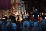 Das Bach-Ensemble Luzern beim Konzert in der Franziskanerkirche in Luzern. Bild: Eveline Beerkircher (Luzern, 24. März 2019)