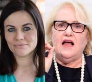 Die ehemalige Politikerin Jolanda Spiess-Hegglin (links) erhielt in erster Instanz Recht. Die Ostschweizer Autorin Julia Onken will das Urteil anfechten.