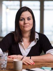 Jolanda Spiess-Hegglin, Geschäftsführerin des Vereins #NetzCourage. (Bild: Gaetan Bally/Keystone, Oberwil ZG, 31. Januar 2018)