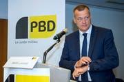 «Wir sind nicht auf dem Radar»: BDP-Präsident Martin Landolt. (Bild: Martial Trezzini/Keystone (Genf, 25. August 2018)