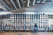 Hälg bewirtschaftet seit 2018 die technischen Anlagen und die Infrastruktur des früheren Zieglerspitals in Bern, das heute für Bundesasylzentrum, Hostel, betreutes Wohnen, Start-ups und Künstlerateliers zwischengenutzt wird. (Bild: PD)