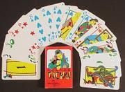 Tichu-Karten wurden für das Spiel speziell nach chinesischen Motiven gestaltet. (Bild: Spielverlag Fata Morgana)
