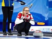 Alina Pätz fehlte es an der Weltmeisterschaft nicht an Arbeit (Bild: KEYSTONE/AP Ritzau Scanpix Foto/HENNING BAGGER)