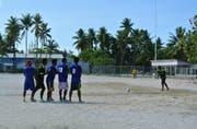 Die Fussball-Infrastruktur auf Kiribati ist kaum entwickelt. (Bild: Conifa (2016))